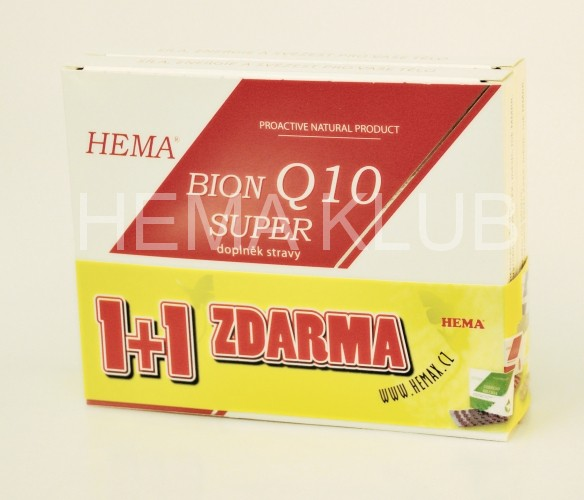 1+1 HEMA BION Q 10 SUPER 30 mg